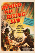 "Movie Posters:War, Behind the Rising Sun (RKO, 1943). One Sheet (27"" X 41""). War.. ..."