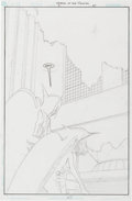 Original Comic Art:Splash Pages, Michael Lark Legend of the Hawkman #2 Splash Page 47Original Art (DC, 2000)....
