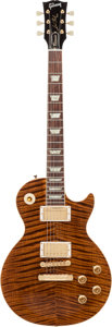 Musical Instruments:Electric Guitars, 1996 Gibson Les Paul Classic Premium Plus Translucent Brown Solid Body Electric Guitar, Serial # 6 0061....