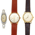 Timepieces:Wristwatch, Two Gent's & One Lady's Wristwatches. ... (Total: 3 Items)