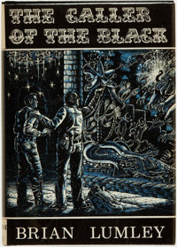 Brian Lumley. The Caller of the Black. Sauk City, Wisconsin: Arkham House: Publishers, 1971