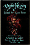 Books:Horror & Supernatural, Alan Ryan (editor). Charles L. Grant, Steve Rasnic Tem, and TanithLee (contributors). Night Visions 1. Niles, Illin...