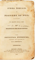 Books:Americana & American History, [American Humor]. D. C. Johnston, etchings. The Aurora Borealis, or Flashes of Wit; Calculated to Drown Dull Care and Er...