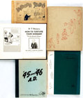 Books:Art & Architecture, [Cartoons]. Group of Five First Edition Cartoon Collections. Various publishers, Circa 1917 - 1955.... (Total: 5 Items)
