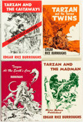 Books:Science Fiction & Fantasy, Edgar Rice Burroughs. Group of Four Tarzan Books. New York: Canaveral Press, 1962 - 1965. ... (Total: 4 Items)
