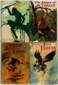 Books:Science Fiction & Fantasy, Edgar Rice Burroughs. Group of Four Tarzan Books. Various publishers, 1919 - Circa 1928.. ... (Total: 4 Items)