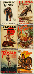 Books:Science Fiction & Fantasy, Edgar Rice Burroughs. Group of Six First Editions. Tarzana: Edgar Rice Burroughs, Inc., 1932 - 1948.... (Total: 6 Items)
