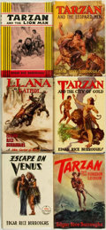 Books:Science Fiction & Fantasy, Edgar Rice Burroughs. Group of Five First Editions with One EarlyReprint. Tarzana: Edgar Rice Burroughs, Inc., 1933 - 1948....(Total: 6 Items)