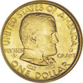 Commemorative Gold: , 1922 G$1 Grant with Star MS66 NGC. Despite the apparent asymmetryon both sides of this design, Laura Gardin Fraser's work ...