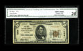 National Bank Notes:Maryland, North East, MD - $5 1929 Ty. 1 The First NB Ch. # 7064. This CecilCounty issuer is excessively scarce, with the census ...
