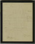 Autographs:Military Figures, Morning Report Signed by Confederate General Samuel W. Ferguson. This handwritten and signed report of the companies reporti...