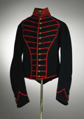 """Military & Patriotic:Civil War, U.S. Buglers """"Musician's"""" Shell Jacket with original Schuylkill, New York U.S. Army Arsenal red plaid lining as well as sten..."""