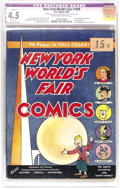 Golden Age (1938-1955):Superhero, New York World's Fair Comics 1939 (DC, 1939) CGC Apparent VG+ 4.5 Slight (A) Off-white to white pages. Listed at number 32 i...