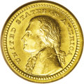 Commemorative Gold: , 1903 G$1 Louisiana Purchase/Jefferson MS65 PCGS. When mostindividuals think of Thomas Jefferson on coinage, the first thou...