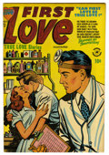 "Golden Age (1938-1955):Romance, First Love Illustrated #28 Davis Crippen (""D"" Copy) pedigree(Harvey, 1953) Condition: FN/VF. Overstreet 2006 FN 6.0 value =..."