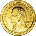 Commemorative Gold: , 1903 G$1 Louisiana Purchase/Jefferson MS66 ★ NGC. This handsomeSuperb Gem is well struck and...