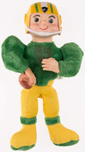"""Football Collectibles:Others, 1961 Green Bay Packers """"ROKO"""" Stuffed Doll...."""