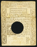 Colonial Notes:Connecticut, Connecticut June 1, 1780 9d Very Fine, HOC.. ...