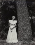 Photographs, Ansel Adams (American, 1902-1984). Graduation Dress, Yosemite Valley, 1948. Gelatin silver, 1974. 19-3/8 x 15-1/4 inches...