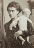 Photographs, Ruth Orkin (American, 1921-1985). Jean Sparber and Baby Peter, 1947. Gelatin silver. 13-5/8 x 9-5/8 inches (34.5 x 24.4 ...