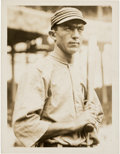 Baseball Collectibles:Photos, Circa 1910's Frank Home Run Baker Original Paul ThompsonPhotograph, PSA/DNA Type 1. ...
