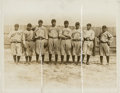 Baseball Collectibles:Photos, 1916-17 New York Yankees News Photograph, PSA/DNA Type 1. ...