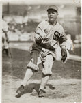 Baseball Collectibles:Photos, 1910's Eddie Cicotte Original Photograph by Charles Conlon, PSA/DNAType 1. ...