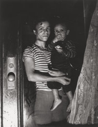 Weegee (American, 1899-1968) Mother and Child, Harlem, 1939 Gelatin silver, printed later 13-1/8