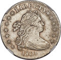 Early Dimes, 1801 10C JR-2, R.5 -- Improperly Cleaned -- NGC Details. AU....