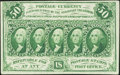 Fractional Currency:First Issue, Fr. 1312 50¢ First Issue Extremely Fine.. ...