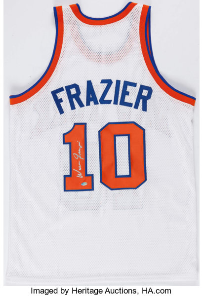 classic fit 49ad8 88466 Walt Frazier Signed New York Knicks Jersey.... Basketball ...