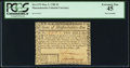 Colonial Notes:Massachusetts, Massachusetts May 5, 1780 $2 Pen Cancel PCGS Extremely Fine 45.....