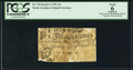 Colonial Notes:North Carolina, North Carolina March 9, 1754 15s PCGS Apparent Good 06.. ...