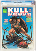 Magazines:Adventure, Kull and the Barbarians #1 (Marvel, 1975) CGC NM 9.4 White pages....