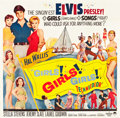 "Movie Posters:Elvis Presley, Girls! Girls! Girls! (Paramount, 1962). Six Sheet (80.5"" X 80"")....."
