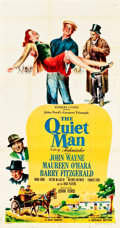 "Movie Posters:Drama, The Quiet Man (Republic, 1952). Three Sheet (41"" X 81"").. ..."