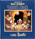 Books:Fine Press and Limited Editions, The Fine Art of Walt Disney's Donald Duck by Carl Barks FineArt Limited Edition Book #85/1875 (Another Rainbow, 1981)...