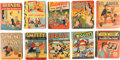 Big Little Book:Miscellaneous, Big Little Book Comic-Related Group of 10 (Whitman, 1935-46)....(Total: 10 Items)