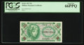 Military Payment Certificates:Series 641, Series 641 10¢ PCGS Gem New 66PPQ.. ...