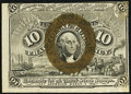 Fractional Currency:Second Issue, Fr. 1244 10¢ Second Issue About New.. ...