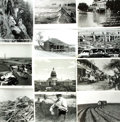 Books:Prints & Leaves, [Texas]. Archive of Approximately 140 Photographs DepictingHistoric Views of Texas....