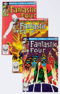 Modern Age (1980-Present):Superhero, Fantastic Four Box Lot (Marvel, 1981-84) Condition: AverageVF/NM.... (Total: 2 Items)