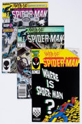 Modern Age (1980-Present):Superhero, Web of Spider-Man #17-42 Box Lot (Marvel, 1986-88) Condition:Average VF/NM.... (Total: 2 Items)