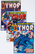 Modern Age (1980-Present):Superhero, Thor #307-320 Box Lot (Marvel, 1981-82) Condition: AverageVF/NM.... (Total: 2 Box Lots)