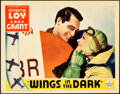 "Movie Posters:Adventure, Wings in the Dark (Paramount, 1935). Lobby Card (11"" X 14"").. ..."