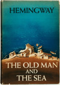 Books:Literature 1900-up, Ernest Hemingway. The Old Man and the Sea. New York: Scribner's, 1952....