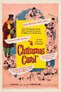 "Movie Posters:Drama, A Christmas Carol (United Artists, 1951). One Sheet (27"" X 41"")....."