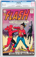 Silver Age (1956-1969):Superhero, The Flash #137 (DC, 1963) CGC VF+ 8.5 Off-white to white pages....