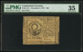 Colonial Notes:Continental Congress Issues, Continental Currency November 2, 1776 $30 PMG Choice Very Fine 35.....