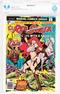 Bronze Age (1970-1979):Miscellaneous, Red Sonja #1 (Marvel, 1977) CBCS NM/MT 9.8 White pages....